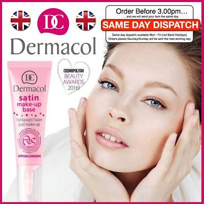 Smoothing Face Primer (DERMACOL Satin Make-up Base Face Smoothing Foundation Primer Genuine 10ml UK)