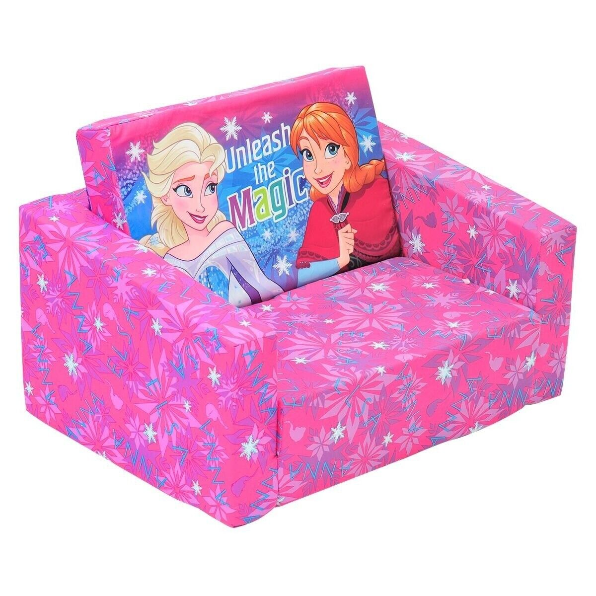 Sensational Details About New Disney Frozen Kids Flip Out Sofa Bed Lounge Bedrom Decoration Birthday Gift Gmtry Best Dining Table And Chair Ideas Images Gmtryco