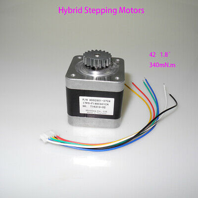 Minebea 2-phase 4-wire 1.8 Hybrid Stepping Motor 42 Stepper Motor 3d Printer Fy