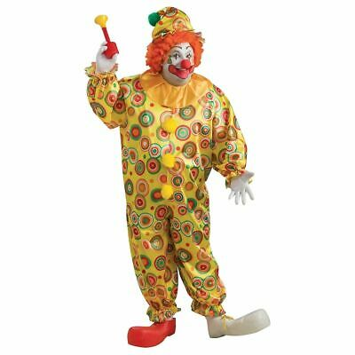 Plus Size Clown Costumes ( Adult Jack The Jolly Clown Costume Plus Size)