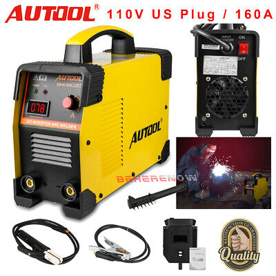 Arc Welder Inverter Welding Machine Igbt 160 Amp Electric Handheld Welding 110v