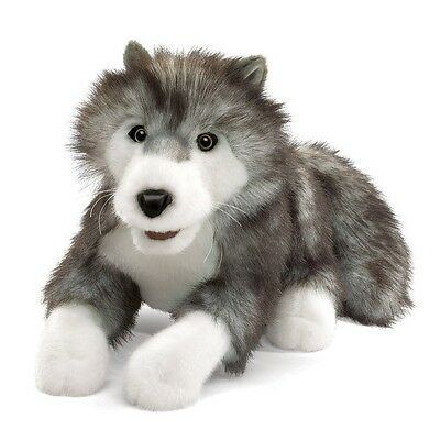 Timberwolf or wolf Puppet with Movable Mouth, MPN 2171, 3 and Up, Boys & Girls for sale  Greenbank
