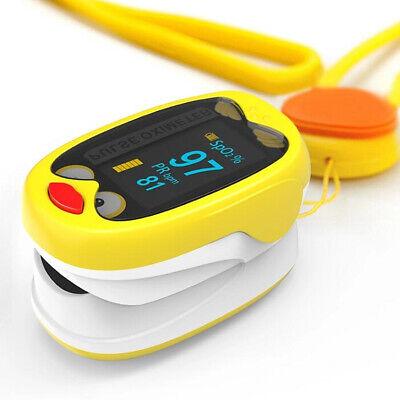 Kids Neonatal Finger Pulse Oximeter Blood Oxygen Saturation Monitor For Children