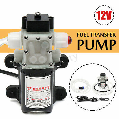 12v Fuel Transfer Pump Oil Diesel Gas Gasoline Kerosene Car Tractor Truck 4lmin