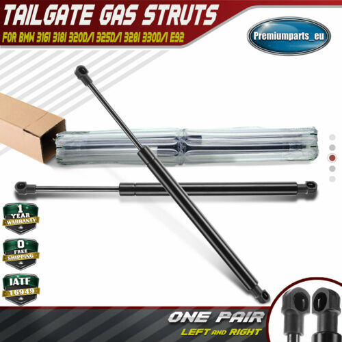 FOR BMW 3 SERIES E92 COUPE 2006-2013 REAR TAILGATE BOOT TRUNK GAS STRUTS SUPPORT