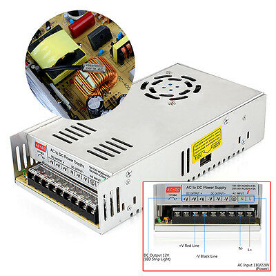 Supernight Dc 12v 30a 360w Regulated Switching Power Supply For Led Strip Light