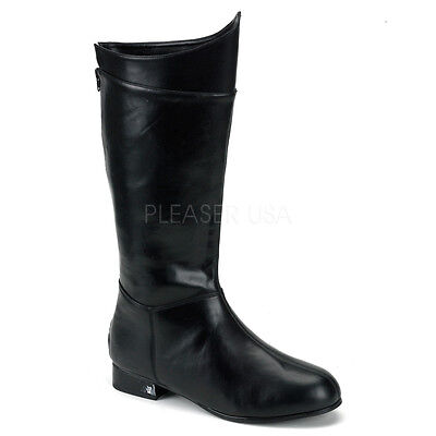 Black Batman Space Captain Darth Vader Star Wars Costume Boots Mens size 11 12 - Darth Vader Boots