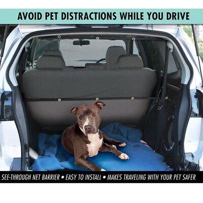 Universal Pet Dog Net Car Safety Dog Barrier Durable Mesh Protector