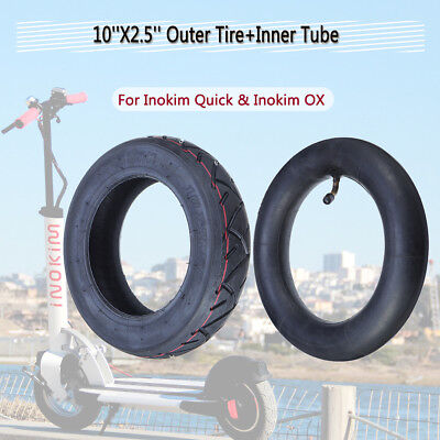 10''X2.5'' Outer Tire+Inner Tube For Inokim Quick & Inokim OX Electric - 5 Scooter Tire