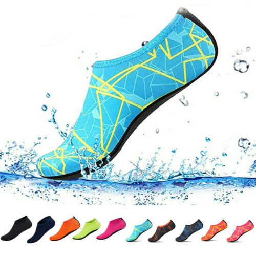 Women's Water Shoes Summer Outdoor Beach Swim Aqua Socks Qui