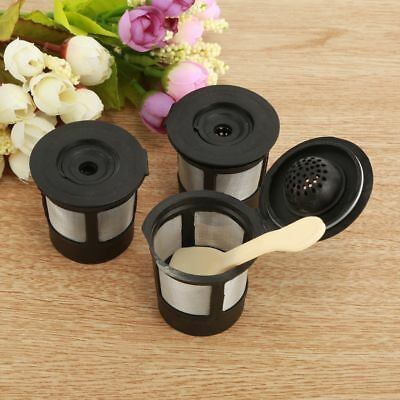 3Reusable Refillable K-Cup Coffee Filter Pod for Keurig K50&K55 Coffee Makers CA