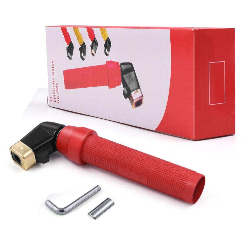 Electrode Holder Screw Type 400A ARC Stick Welding Holder MMA Welding Tools
