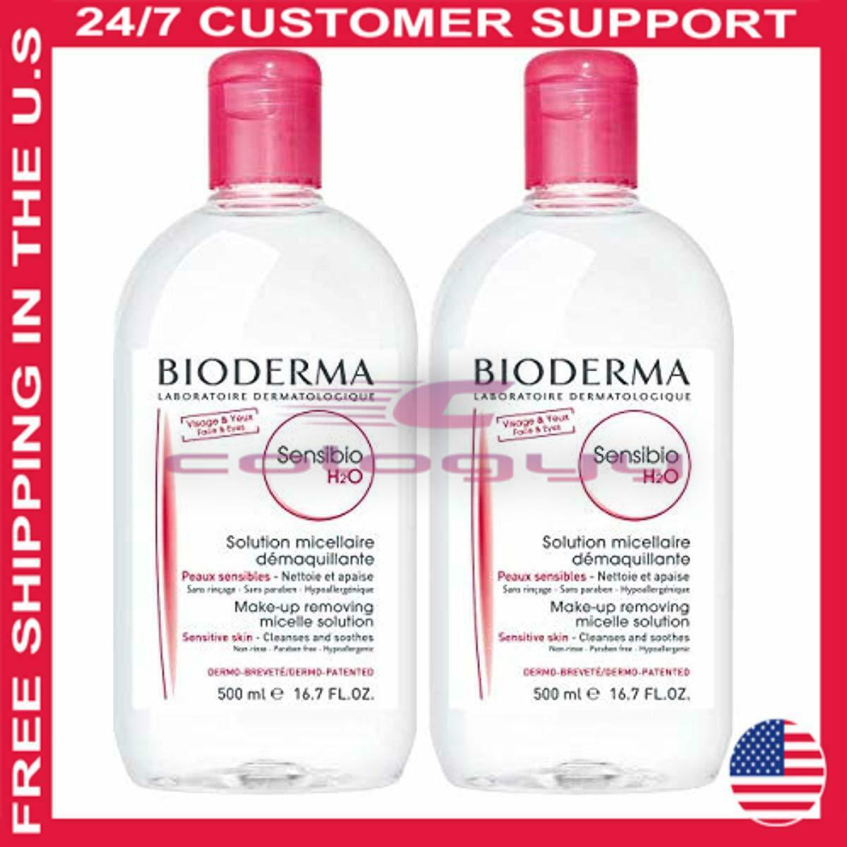 Bioderma Sensibio H2O Soothing Micellar Cleansing Water and