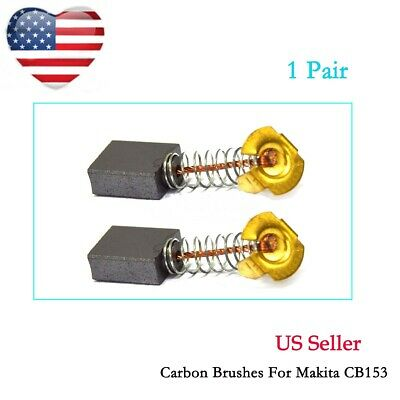 2 Carbon Brushes For Makita 2711 Table Saw 9401 Belt Sander