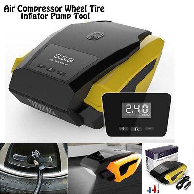 Digital Display Air Compressor Auto Car Electric Tire Air Inflator Pump Portable