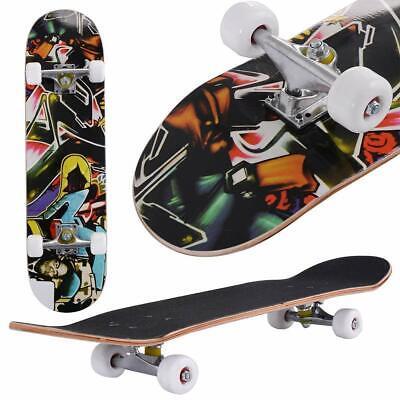 Professional Adult Skateboard Complete Wheel Truck Maple Deck Solid Longboard <<