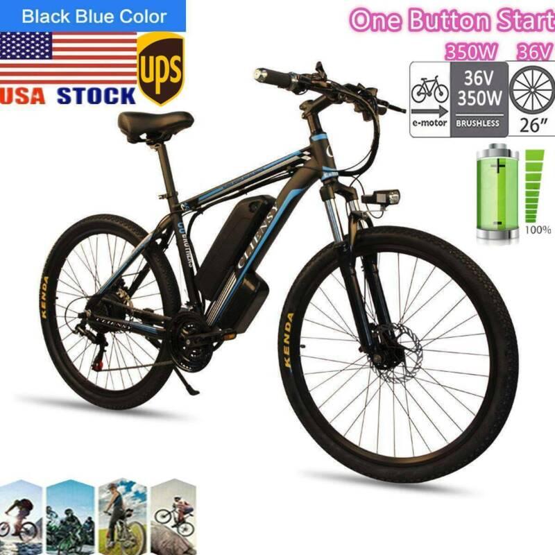 26 electric mountain bike bicycle 350w 36v