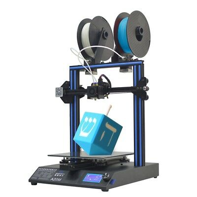 3d Printer Geeetech A20m Break-resuming Capability 2 In 1 Out Extruder