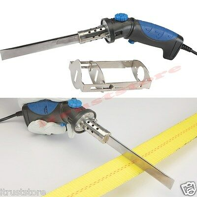 Electric Power Hot Knife Foam Plastic Wax Cutter Cutting Blade Tool Slicer Cut