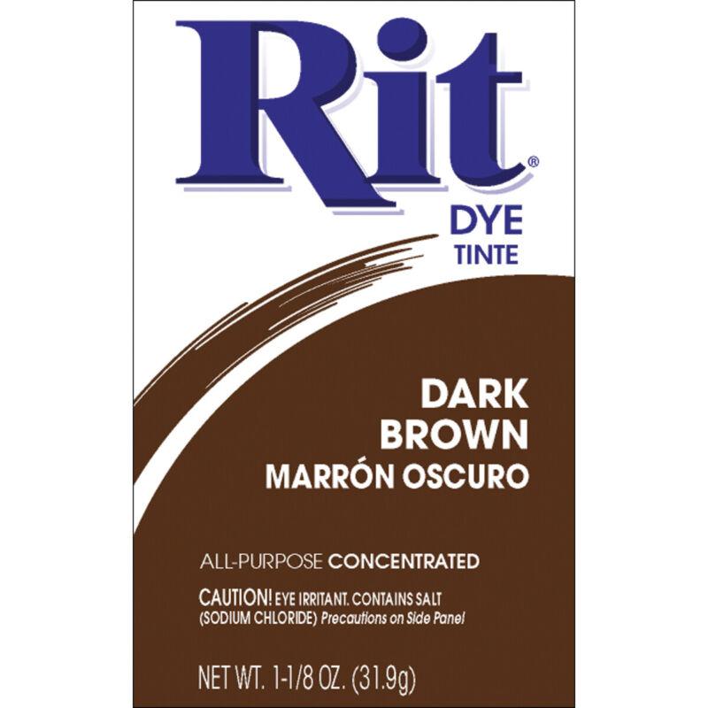 Rit Dye Powder-Dark Brown
