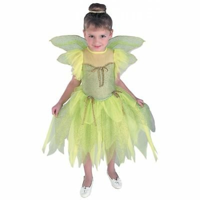 Tinkerbell Fancy Dress up Girls Costume(E)