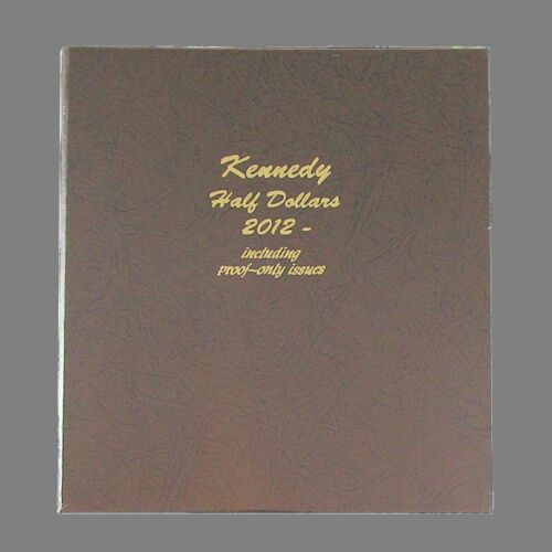 Dansco US Kennedy Half Dollar Coin Album 2012-2021 Volume II with Proof #8167
