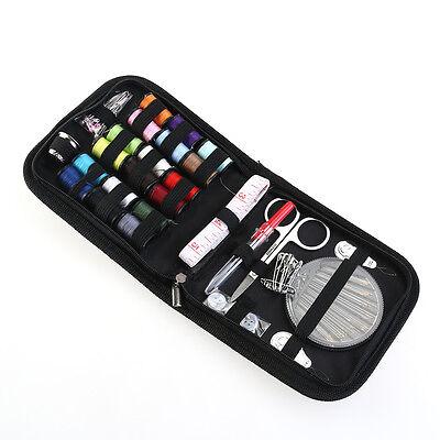 58Set Home Travel Thread Threader Needle Tape Measure Scissor Sewing Kit