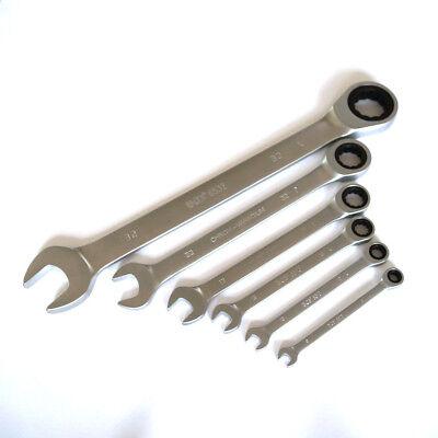 BGS Ratschen-Ringmaulschlüssel Ratschenschlüssel Knarrenschlüssel SW 8 mm - 32mm