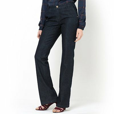 La Redoute Laura Clement Womens atelier R Bootcut Jeans Size 16 BNWT Untreated