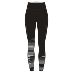 4190a6f21f70 ASICS Womens Fuzex Highwaist Tights Bottoms Pants Black Sports ...