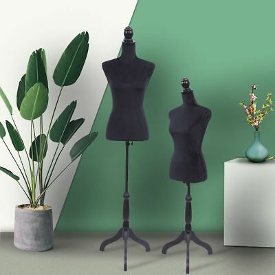 Female Mannequin Torso Clothing Display W Tripod Stand New