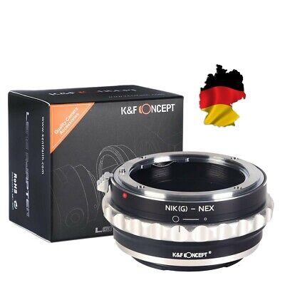 K&F Adaptador Nikon G / F / Al / Ais / D...