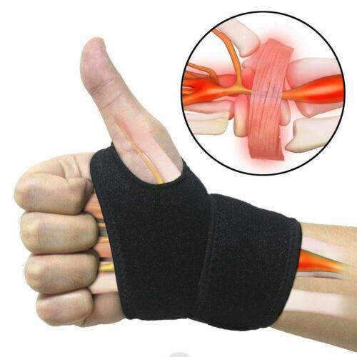 Wrist Wrap Carpal Tunnel Support Brace Universal Comfortable