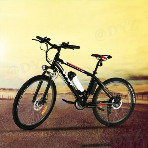 """26"""" Electric Bike Mountain Bicycle EBike 21*Speed 350W Removeable Battery Nice!"""