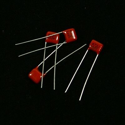 (E03) 2 Pairs .047uF 100v 473J Tone Capacitors For Guitar /Bass /Amp