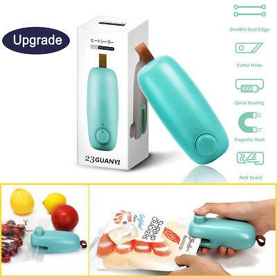 Portable Plastic Bag Heat Sealer Sealing Machine Home Food Packaging Upgrade