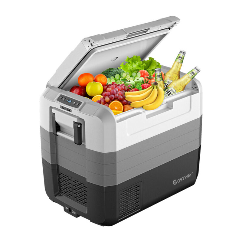 70 Quart Portable Electric Car Cooler Refrigerator Compressor Freezer Outdoor