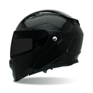BELL EVO Revolver DOT Motorcycle Helmets BLack Medium Modular & Flip Sun SHADE