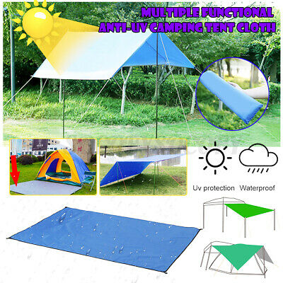 10x10ft Outdoor Camping Tent Cover Tarp Sunshade Waterproof Shelter