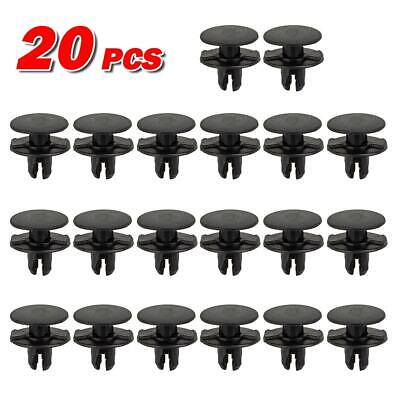 20pcs Bumper Fender Grille Molding Clips Retainer Fastener for 13-16 Acura ILX