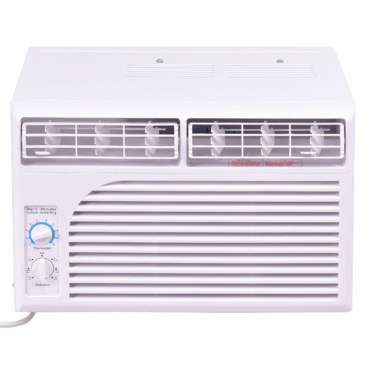 5000 BTU Adjustable Window Mounted AC Cooling Unit 2 Way Con