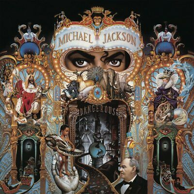 MICHAEL JACKSON : DANGEROUS (Double LP Vinyl) sealed