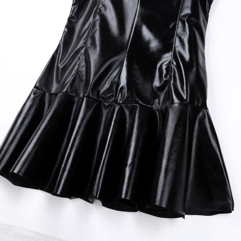 Agoky Womens One Piece Shiny Metallic Swimsuit Sleeveless