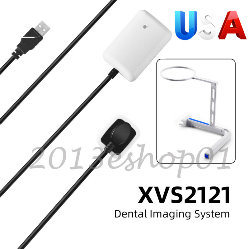 Dental Imaging System RVG Intraoral Digital X-Ray Sensor 1.0 + Sensor Holder
