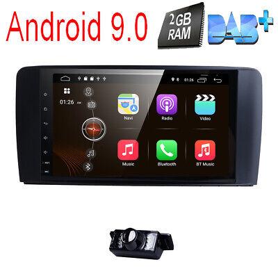 """9"""" Android 9.0 Autoradio Mercedes Benz ML/GL Klasse W164 X164 DAB+ Navi WiFi SWC"""