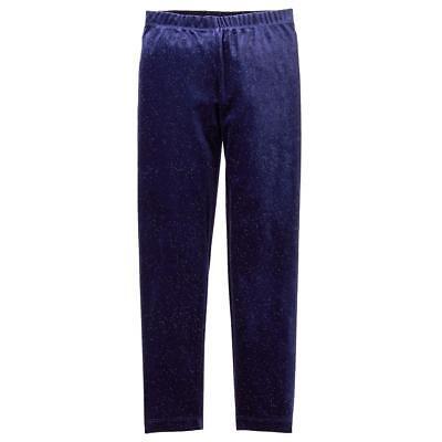 NWT Gymboree Girl Leggings Sparkle Velour Winter Star Navy Blue many sizes - Girls Sparkle Leggings