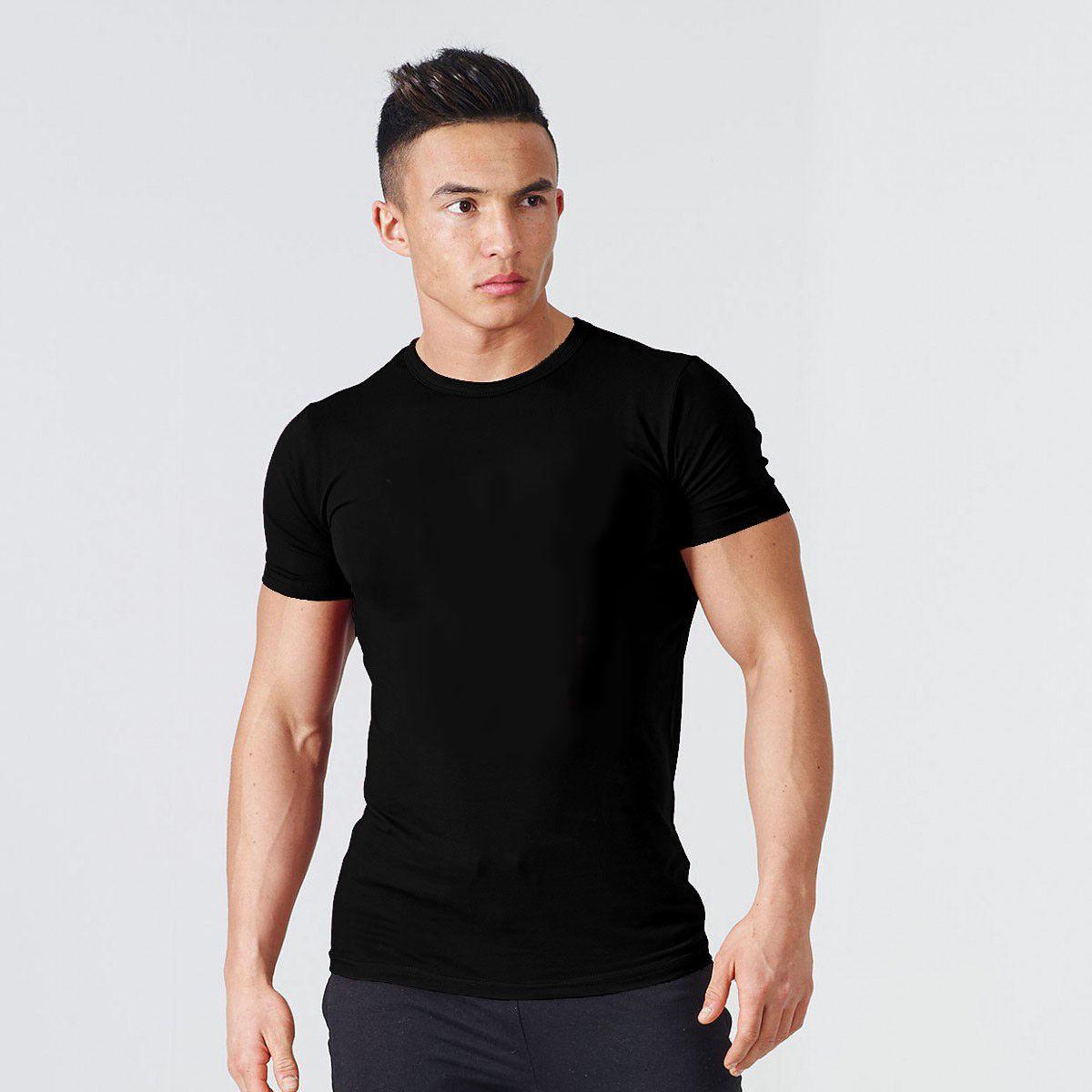 men s gym bodybuilding fitness cotton clothing
