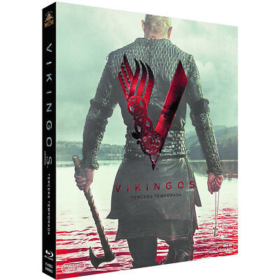 Vikingos TEMPORADA 3 (TERCERA) EN Blu-Ray CASTELLANO EDICION ESPAÑA NUEVO