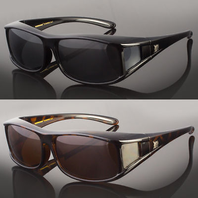 Polarized Fit Over Sunglasses Cover All Glasses Drive Fish New Wrap Solar (Polarized Fit Over Sunglasses)