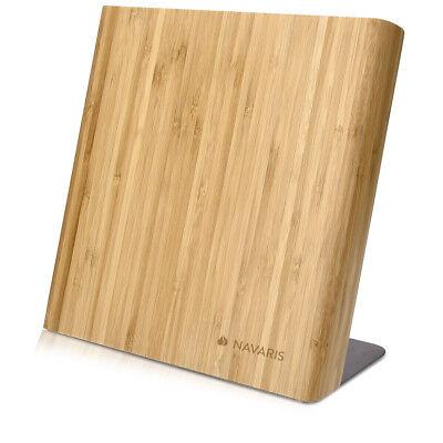 Messerbrett aus Bambus Magnet Messerblock Magnethalter Messerhalter magnetisch